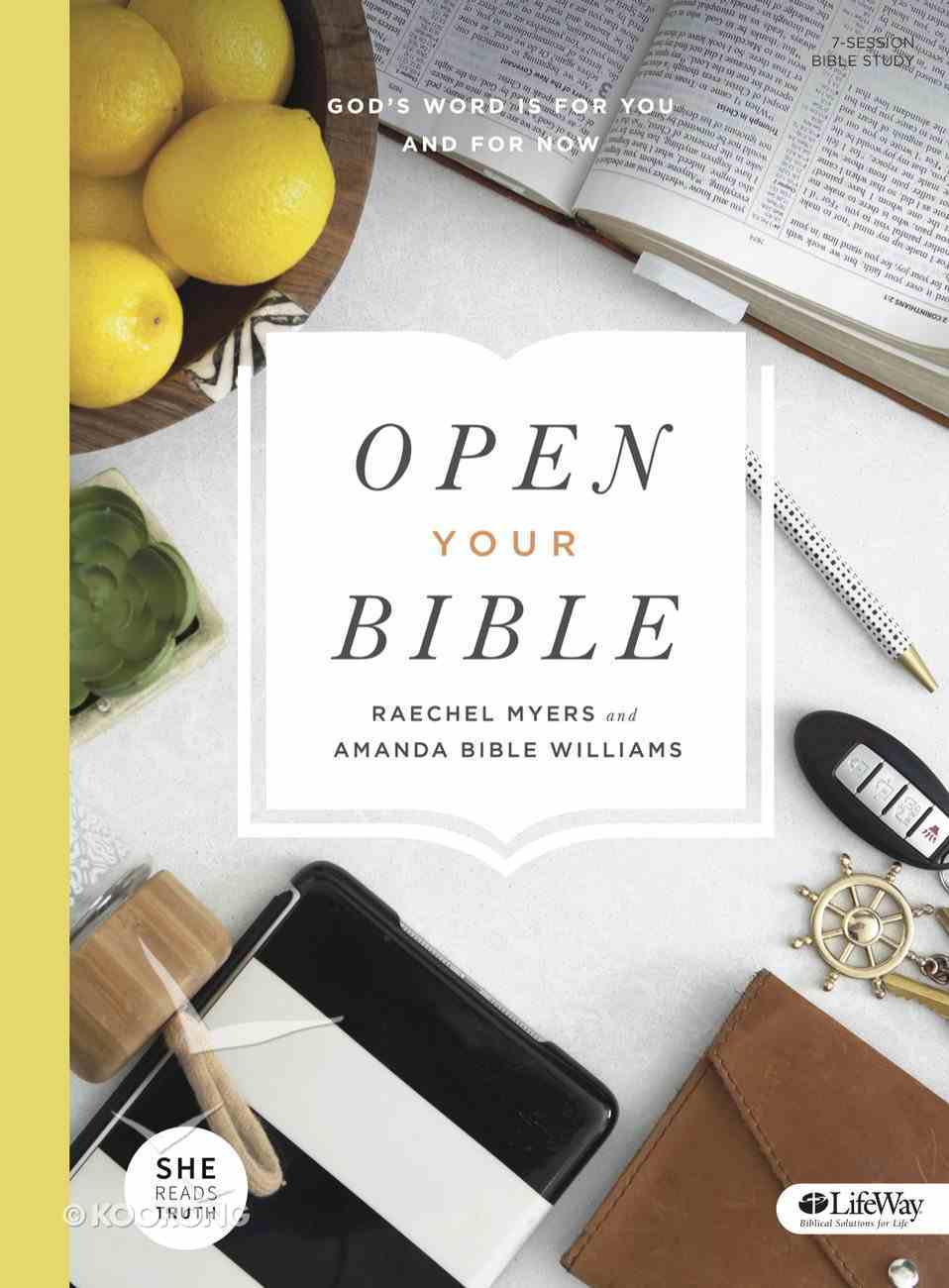 Open Your Bible (Bible Study Book: 7-sessions) Paperback
