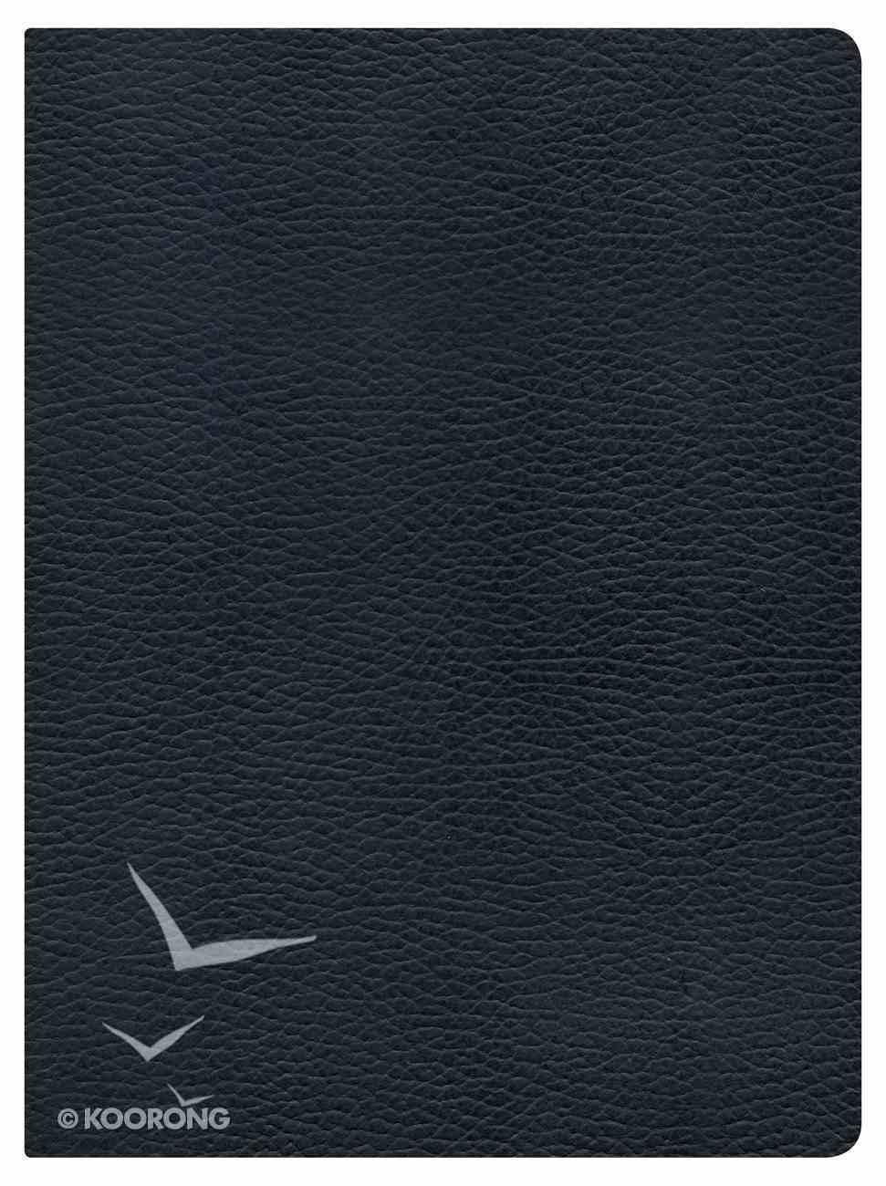 NKJV Holman Study Bible Black Indexed Genuine Leather