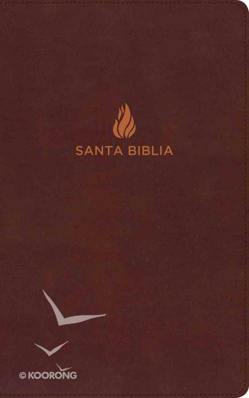 Rvr 1960 Biblia Ultrafina Marron Con Indice Bonded Leather