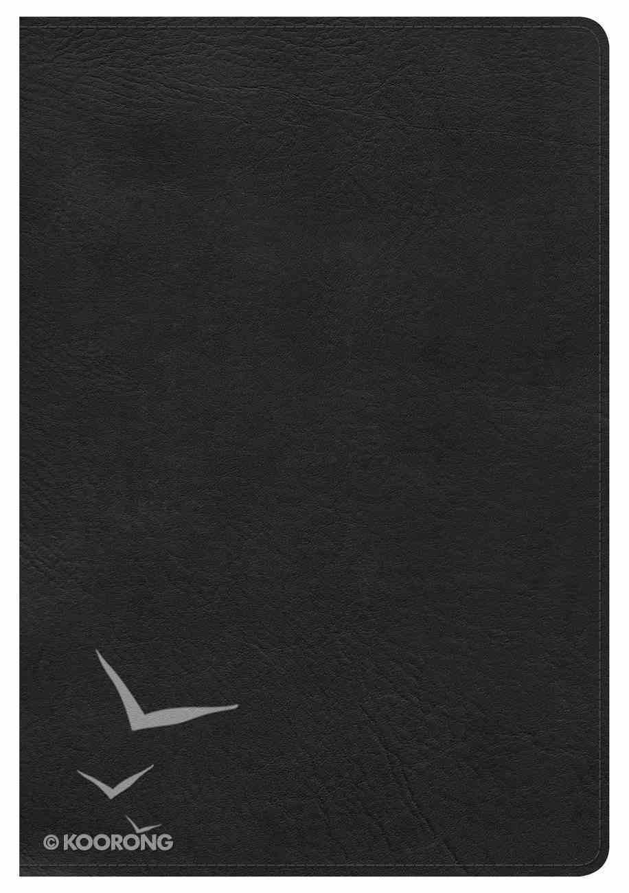 NKJV Large Print Ultrathin Reference Bible Indexed Black Imitation Leather