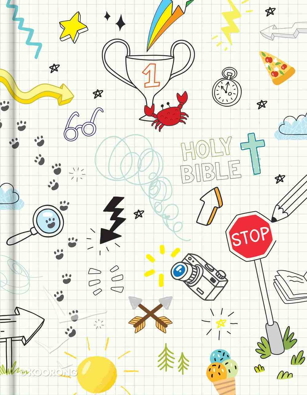 CSB Journal and Draw Bible For Kids White Hardback