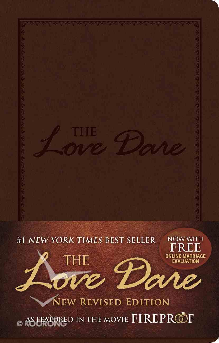 The Love Dare: A 40-Day Guided Devotional Imitation Leather