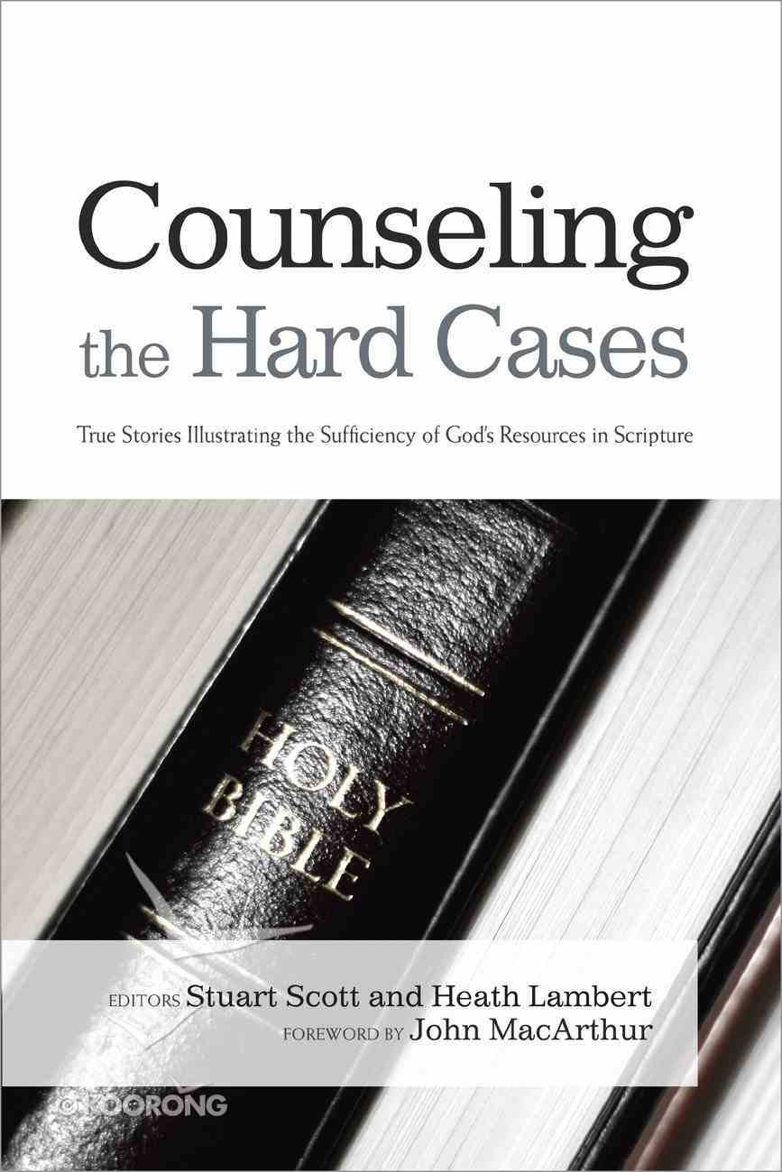 Counseling the Hard Cases Paperback