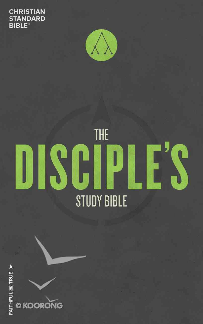 CSB Disciple's Study Bible Hardback