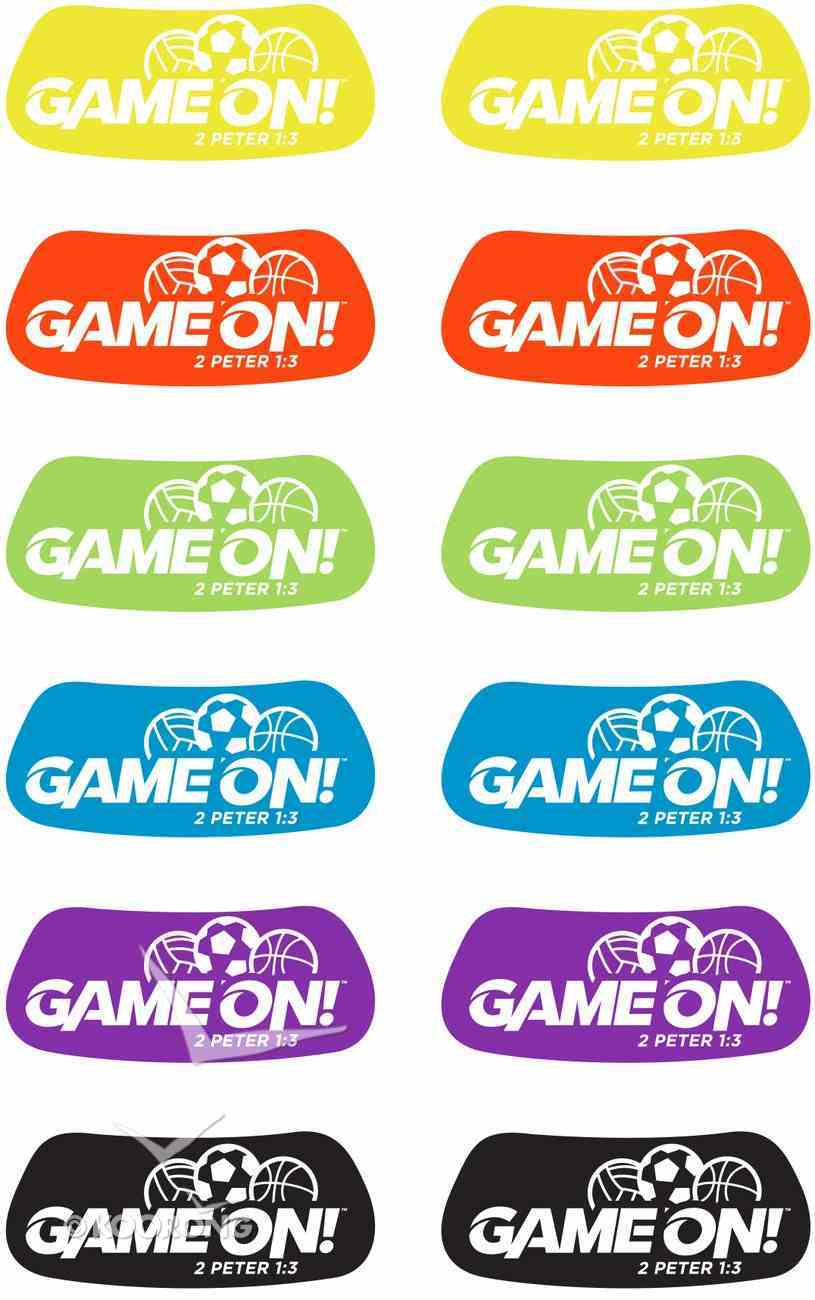 Eye Black Decals (Vbs 2018 Game On! Series) Stickers