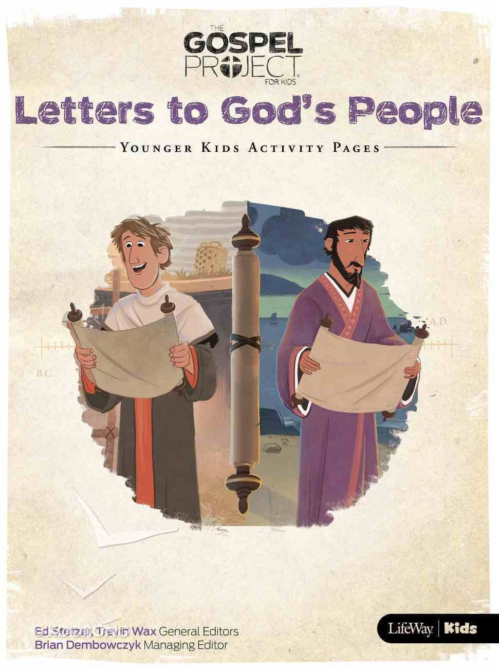 Letters to God's People (Younger Kids Activity Pages) (#11 in The Gospel Project For Kids Series) Paperback