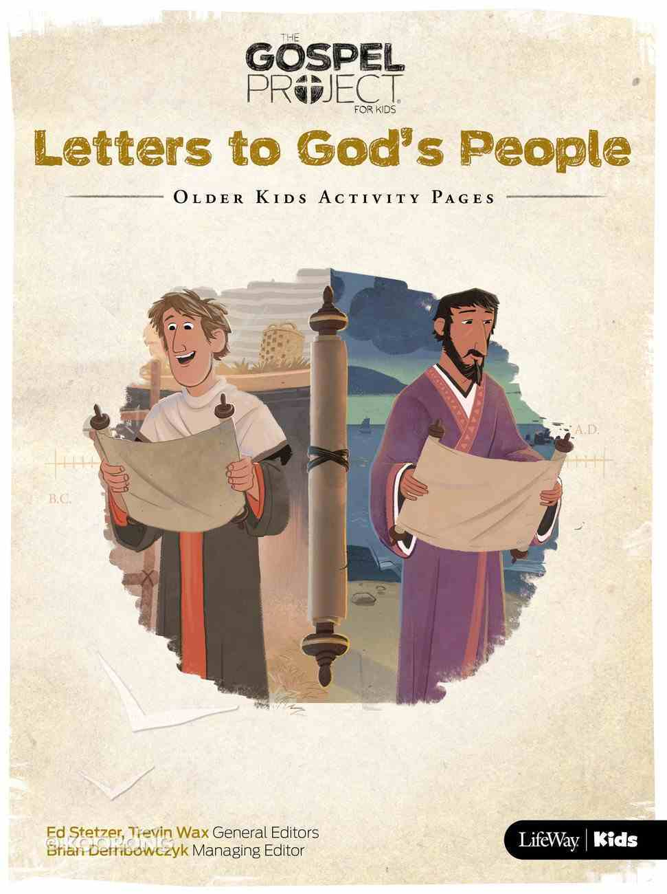 Letters to God's People (Older Kids Activity Pages) (#11 in The Gospel Project For Kids Series) Paperback