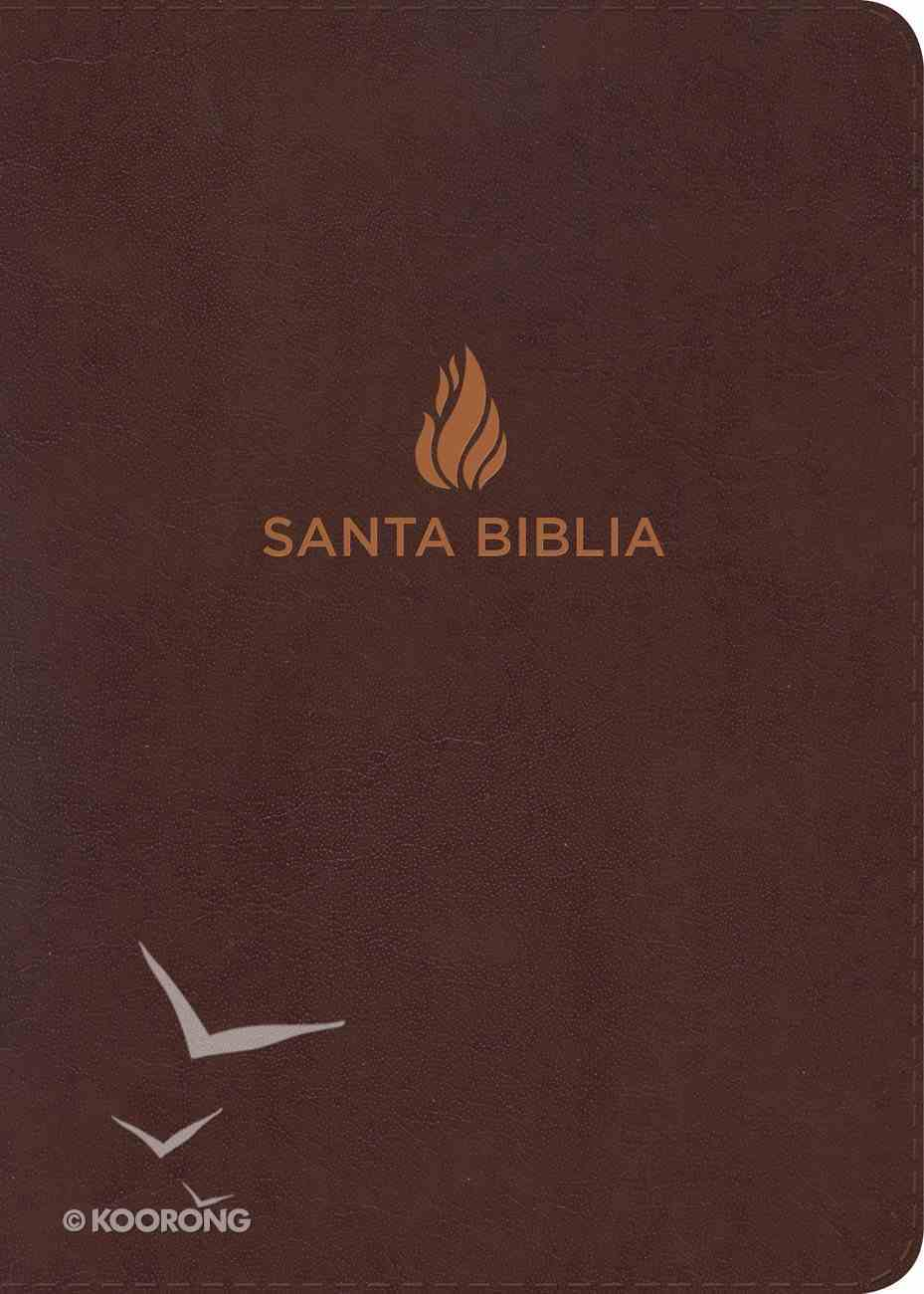 Rvr 1960 Biblia Letra Super Gigante Marron (Red Letter Edition) (Super Giant Print) Bonded Leather