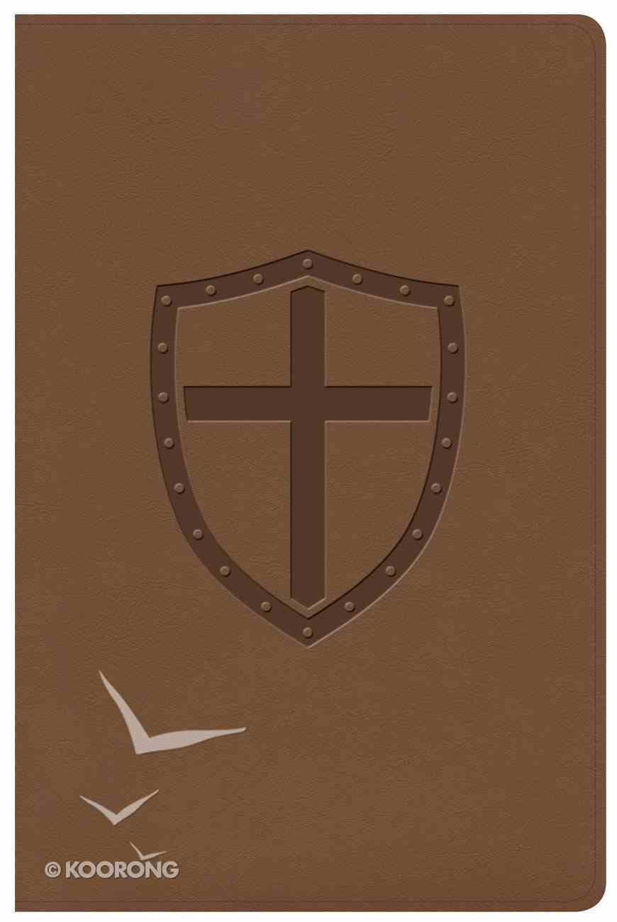 CSB Defend Your Faith Bible Walnut Imitation Leather