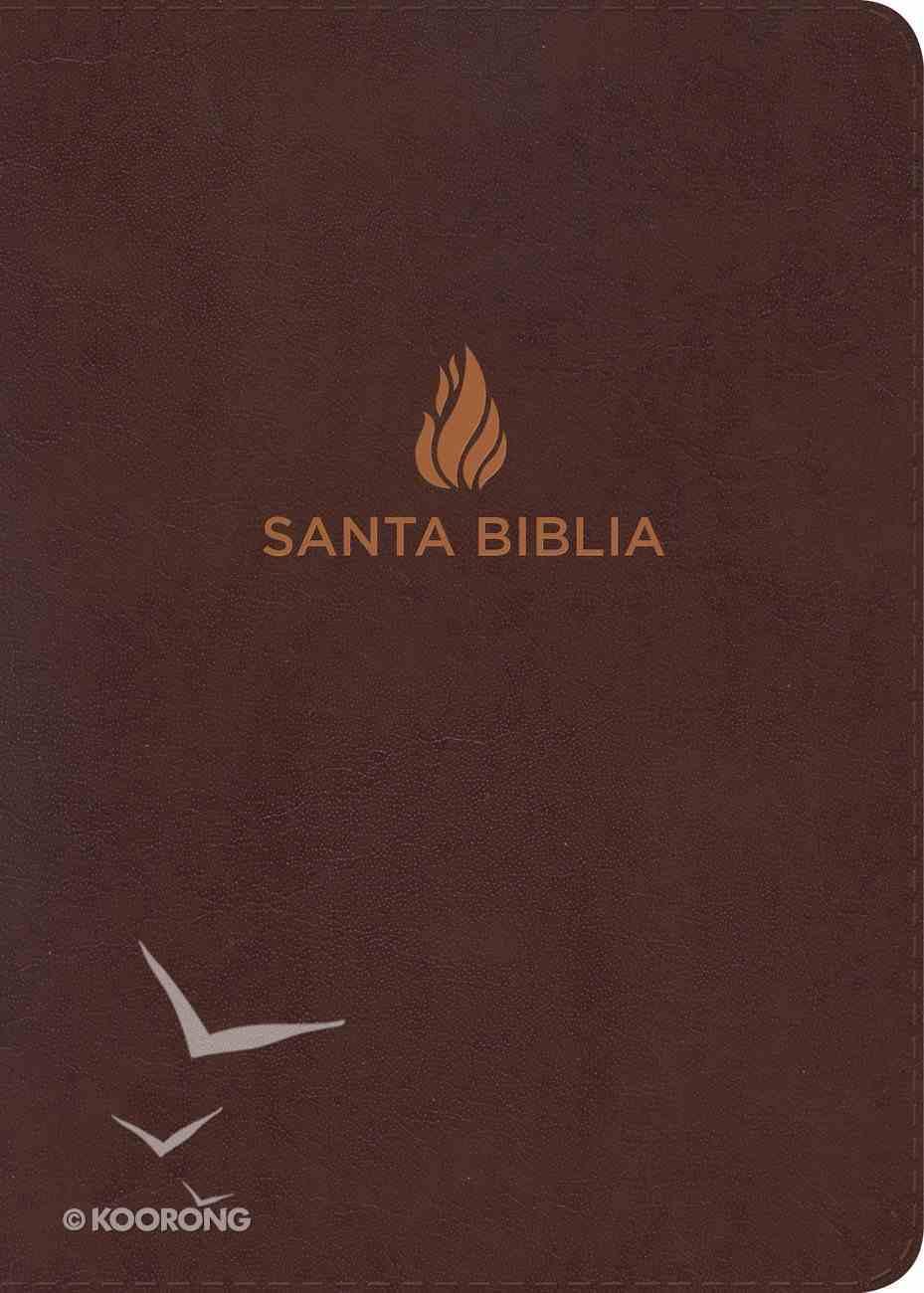 Nvi Biblia Letra Gigante Marron (Giant Print) Bonded Leather