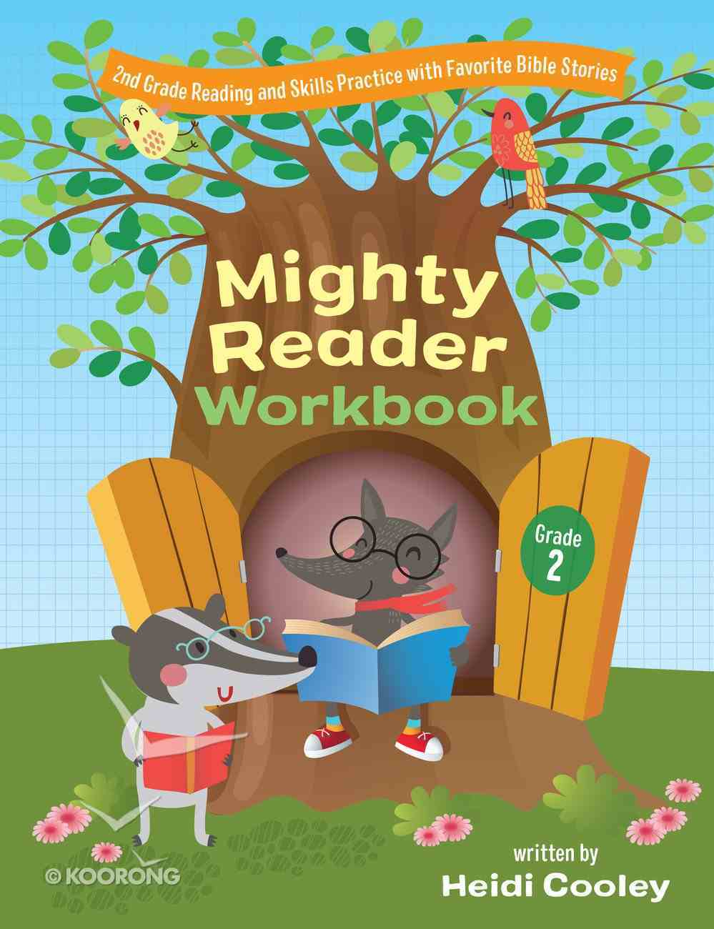 Second Grade Mighty Reader Workbook: Reading and Skills Practice With Favorite Bible Stories Paperback