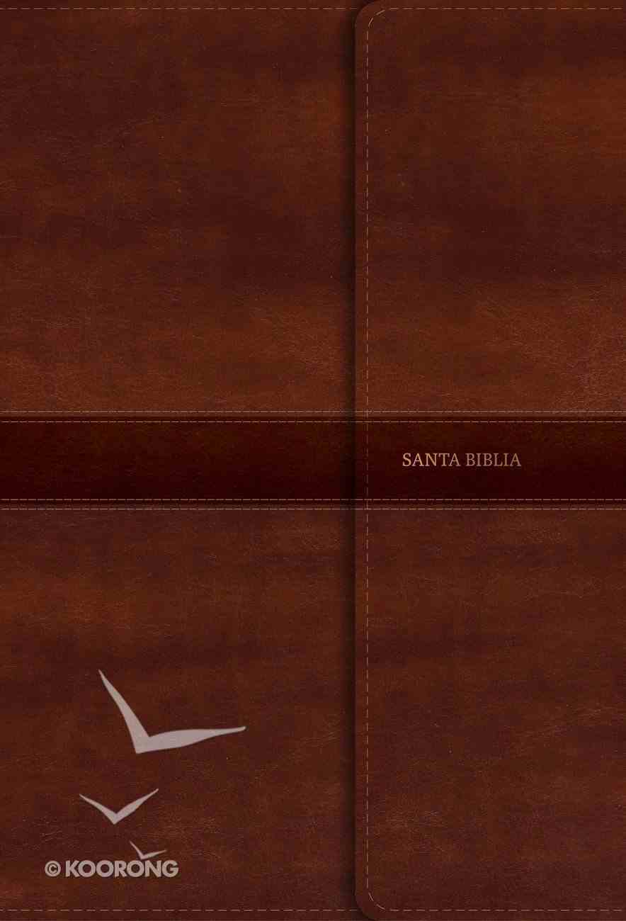 Rvr 1960 Biblia Letra Super Gigante Marron Con Indice Y Solapa Con Iman (Red Letter Edition) (Super Giant Print Indexed Magnetic Flap) Imitation Leather