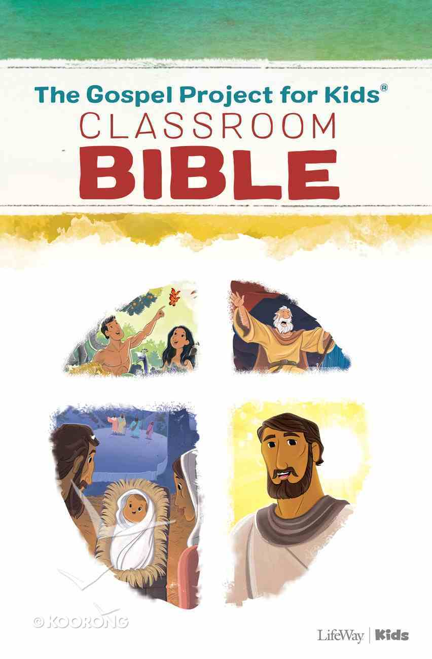 The CSB Gospel Project For Kids Classroom Bible (Black Letter Edition) (The Gospel Project For Kids Series) Paperback