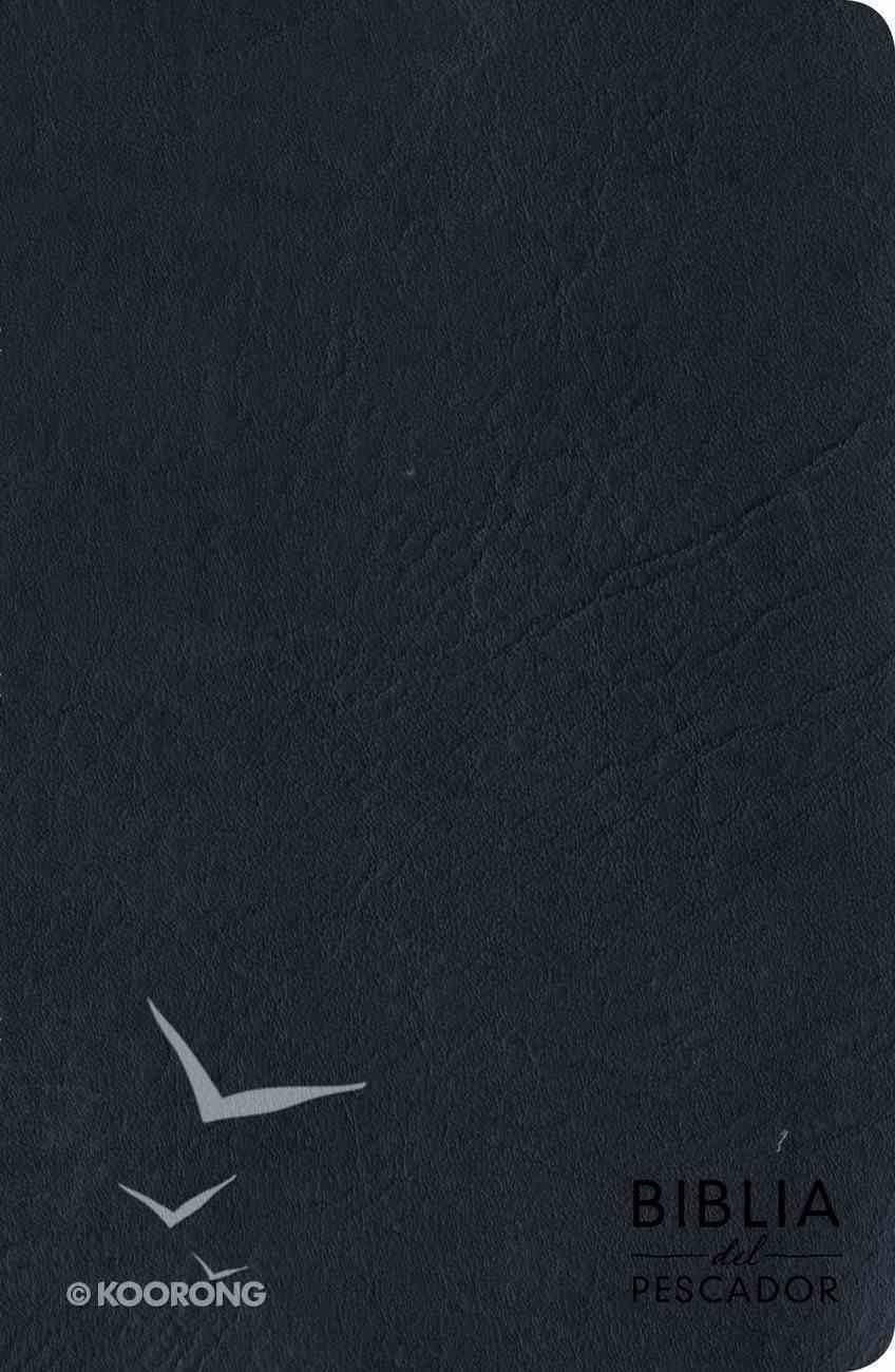 Rvr 1960 Biblia Del Pescador Letra Grande Azul Imitation Leather