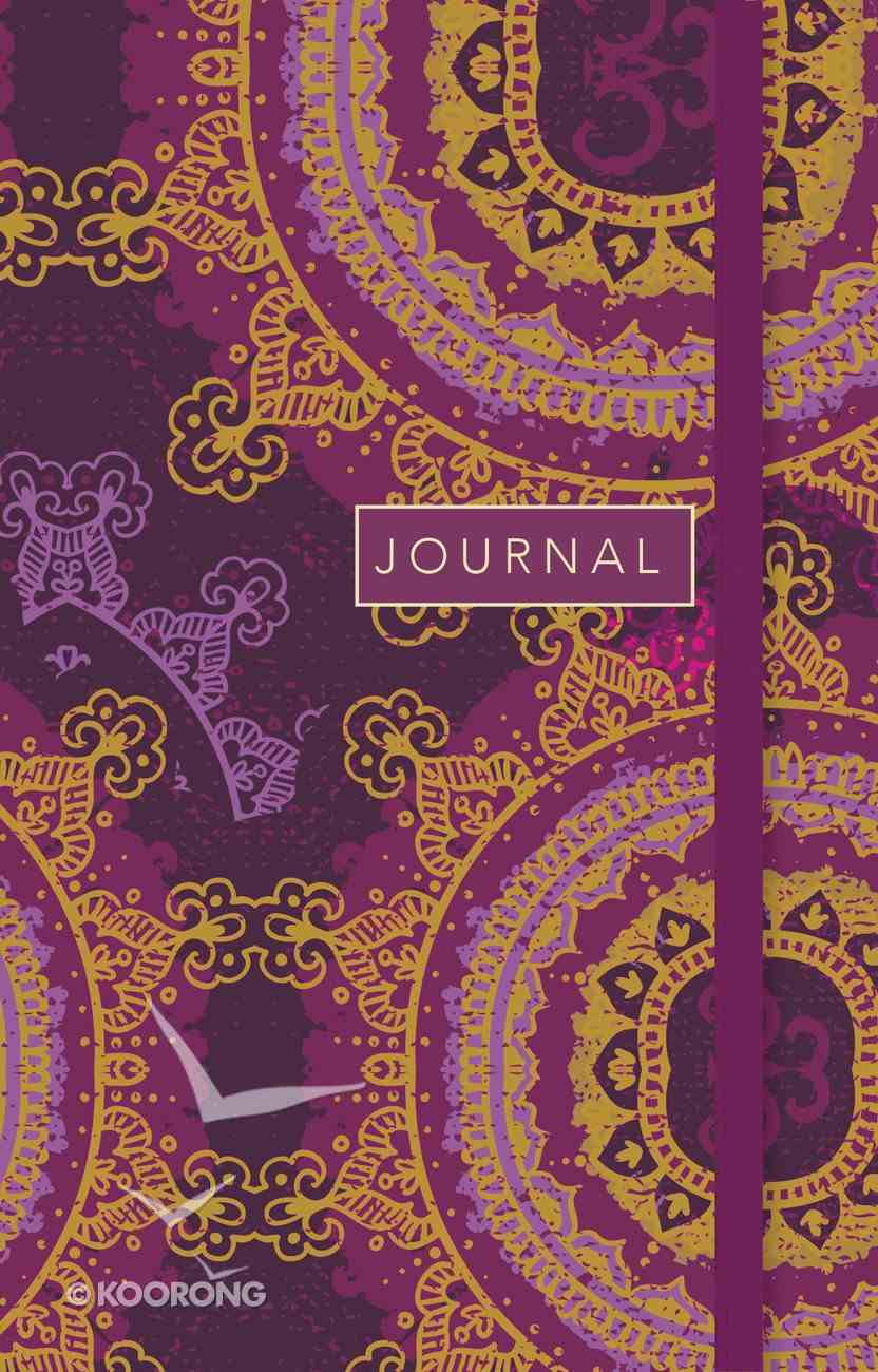 Journal: Star Floral, Sermon Notes Journal With CSB Verse on Every Page Paperback