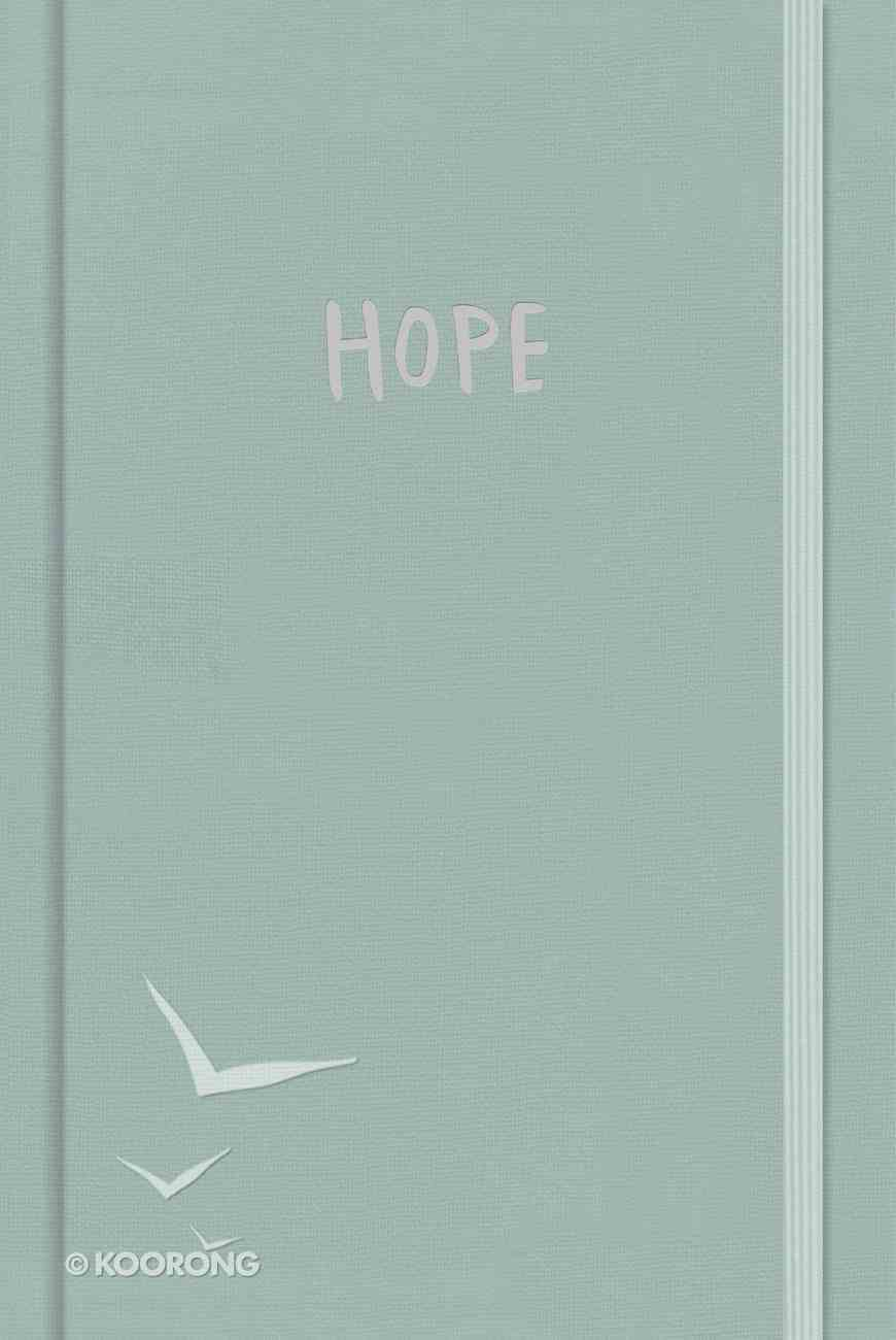 Journal: Hope, Elastic Band With CSB Verses on Every Page Hardback
