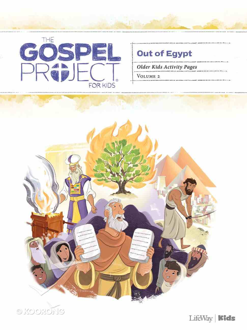 Out of Egypt (Older Kids Activity Pages) (#02 in The Gospel Project For Kids Series) Paperback