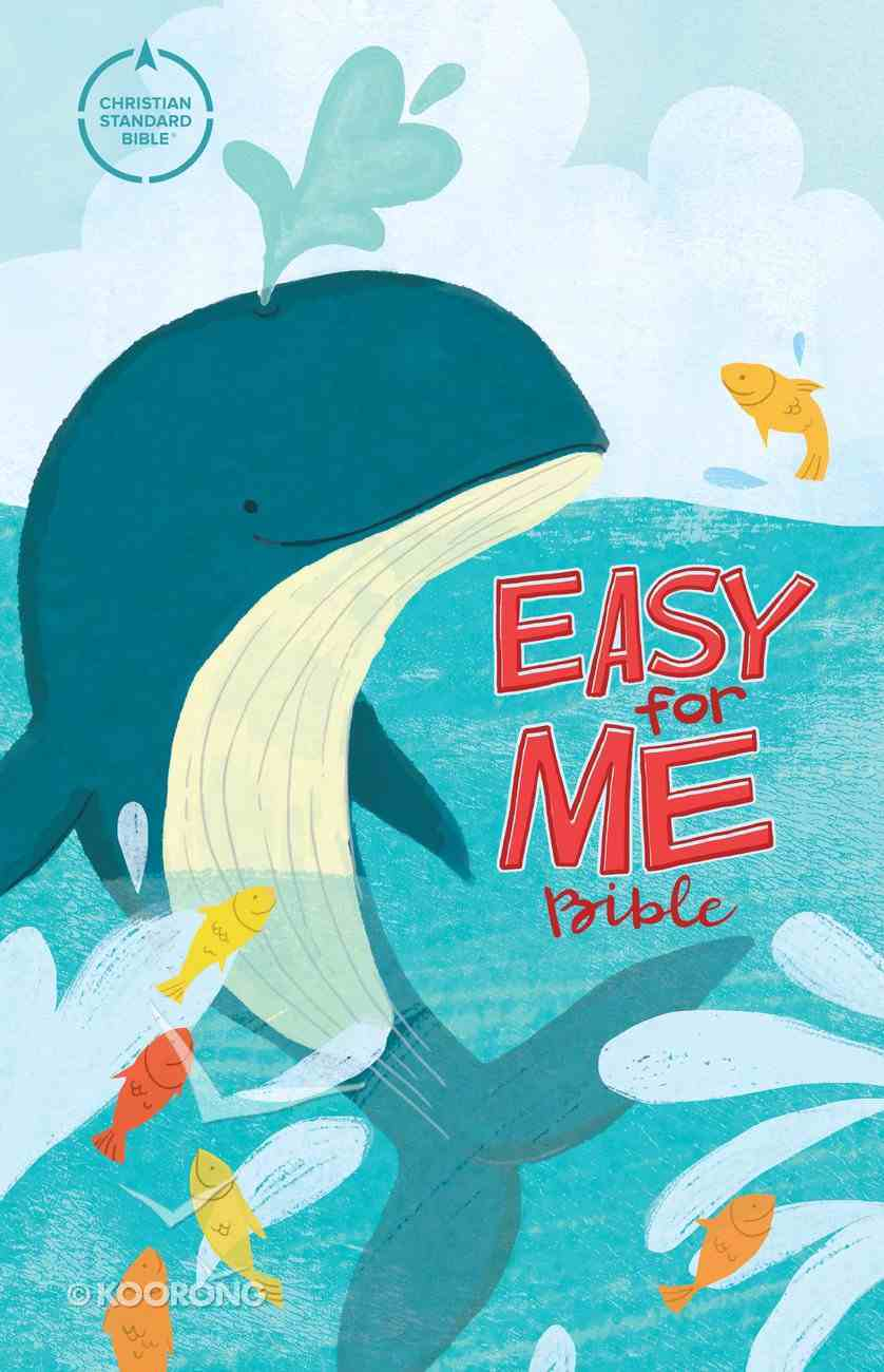CSB Easy For Me Bible For Early Readers Hardback