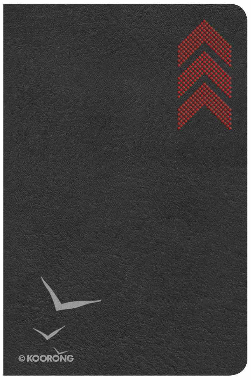CSB On-The-Go Bible Charcoal Arrow (Red Letter Edition) Imitation Leather