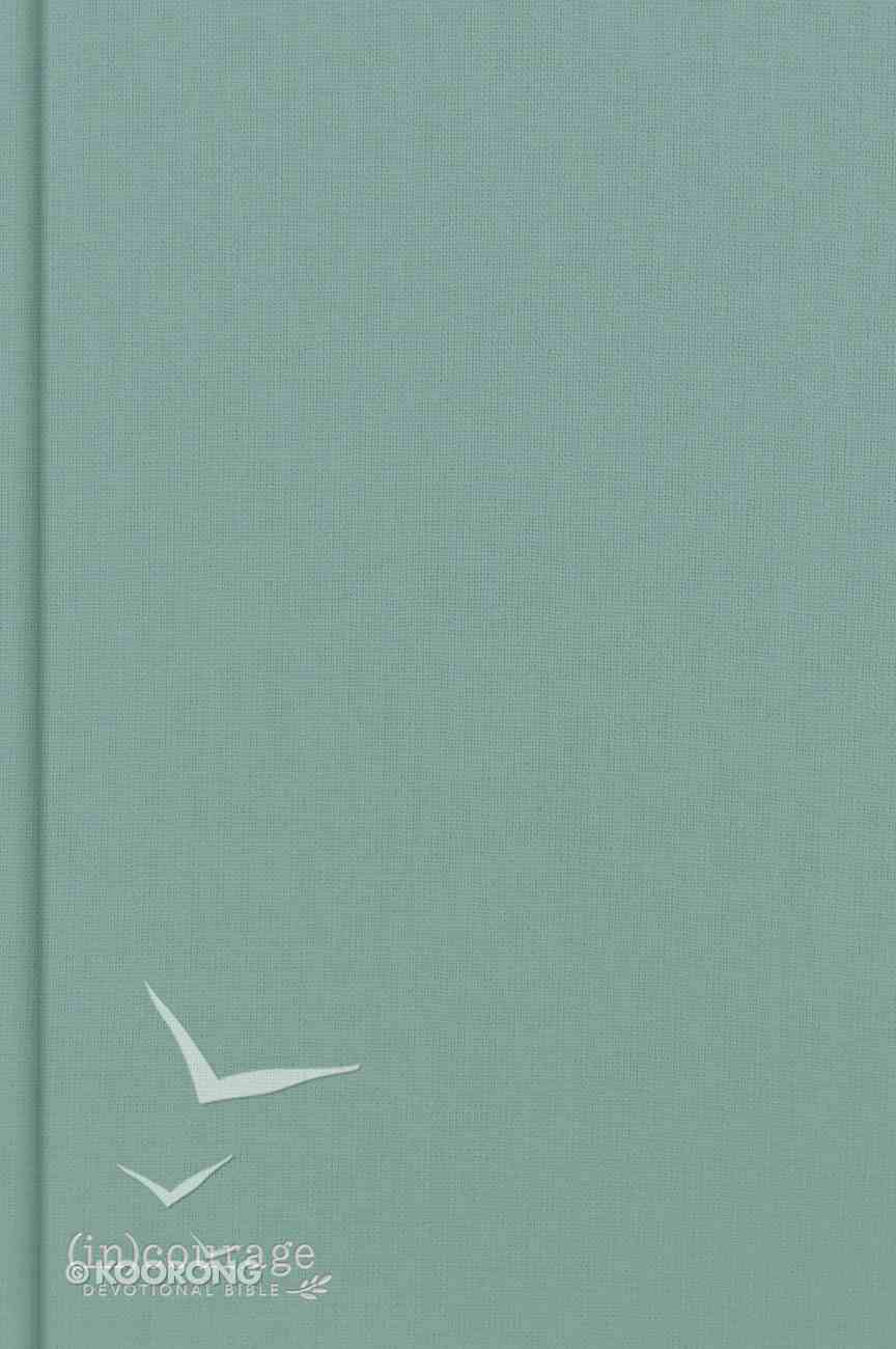 CSB Courage Devotional Bible Green Indexed (Black Letter Edition) (In) Hardback