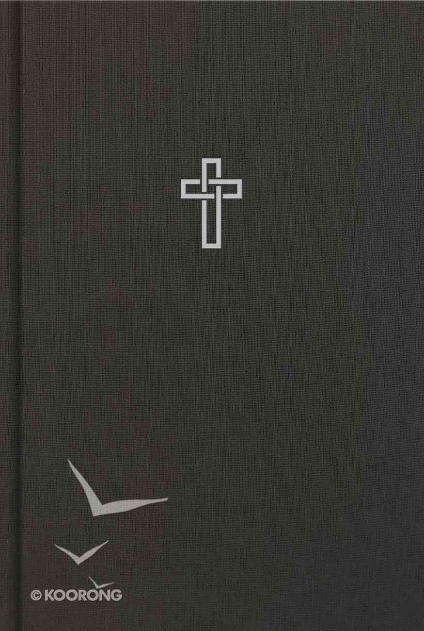 CSB Large Print Ultrathin Reference Bible Charcoal (Black Letter Edition) Hardback
