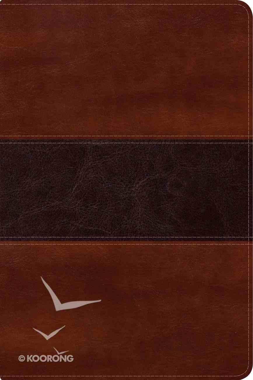 Nvi Biblia Del Pescador Letra Grande Caoba Imitation Leather
