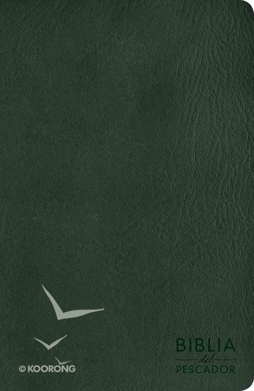 Nvi Biblia Del Pescador Letra Grande Verde Imitation Leather