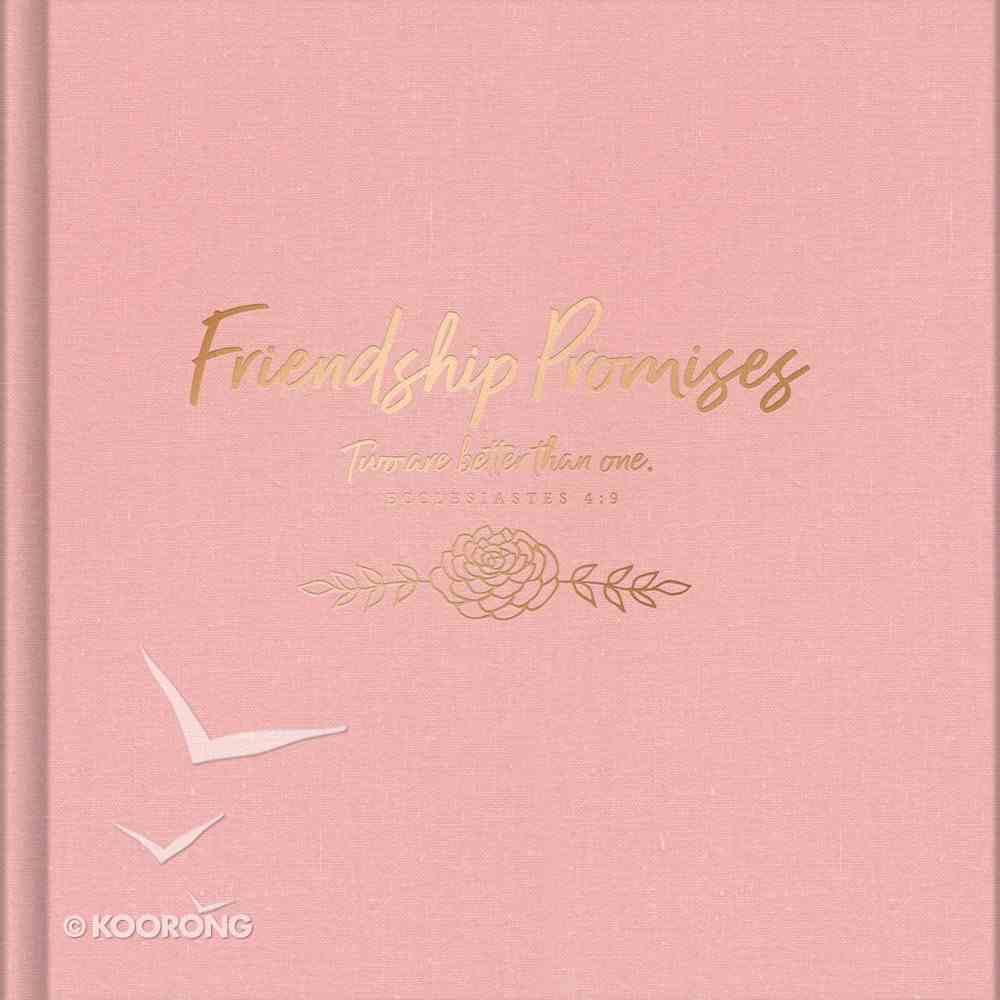 Friendship Promises Hardback