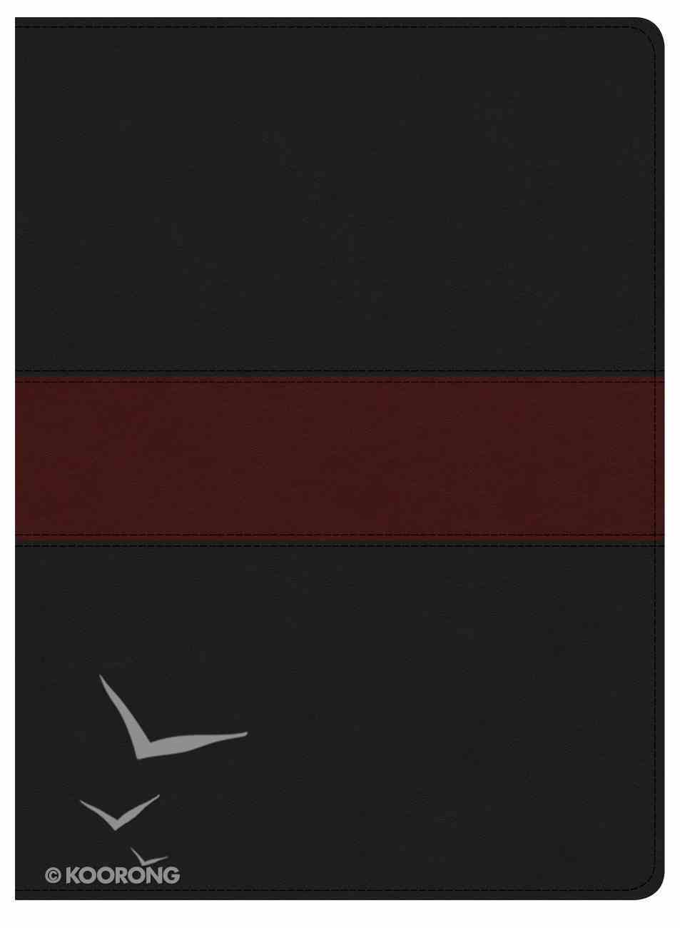 KJV Apologetics Study Bible Black/Red (Black Letter Edition) Imitation Leather