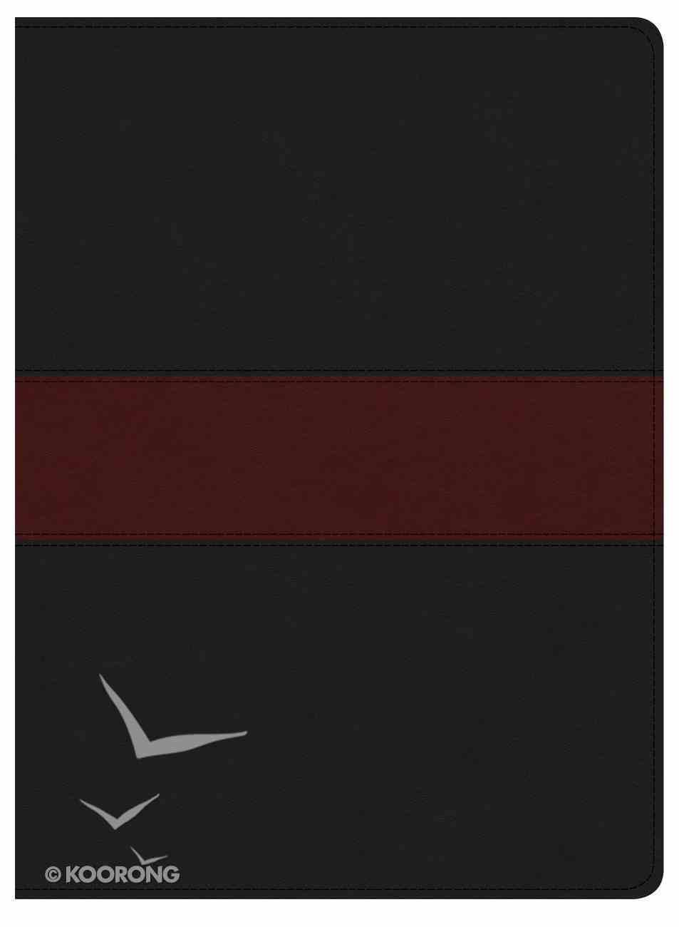 KJV Apologetics Study Bible Black/Red Indexed (Black Letter Edition) Imitation Leather