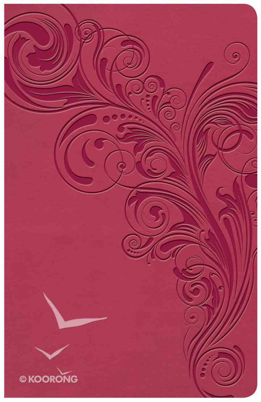 KJV Large Print Personal Size Reference Bible Pink (Red Letter Edition) Imitation Leather