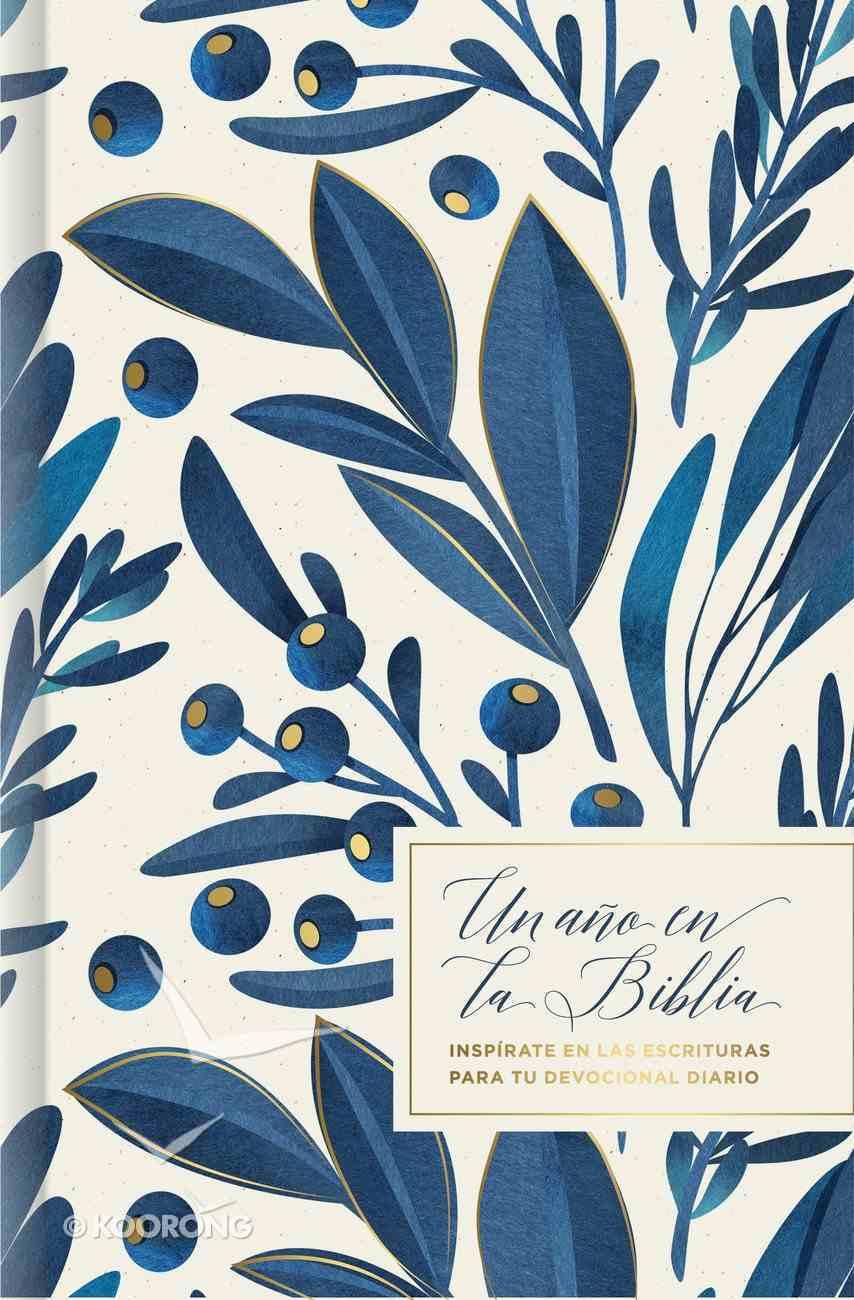 Un Ano En La Biblia, Floral (One Year In The Bible, Floral) Hardback