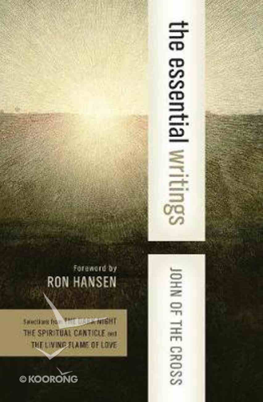 John of the Cross (Harper Collins Spiritual Classics Series) Paperback