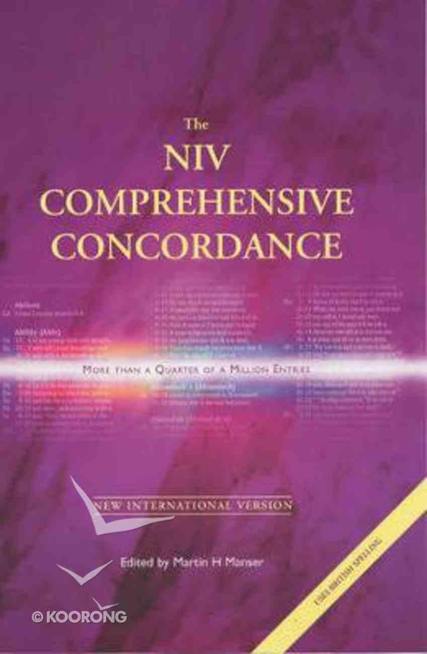 NIV Comprehensive Concordance (Anglicised Edition) Hardback