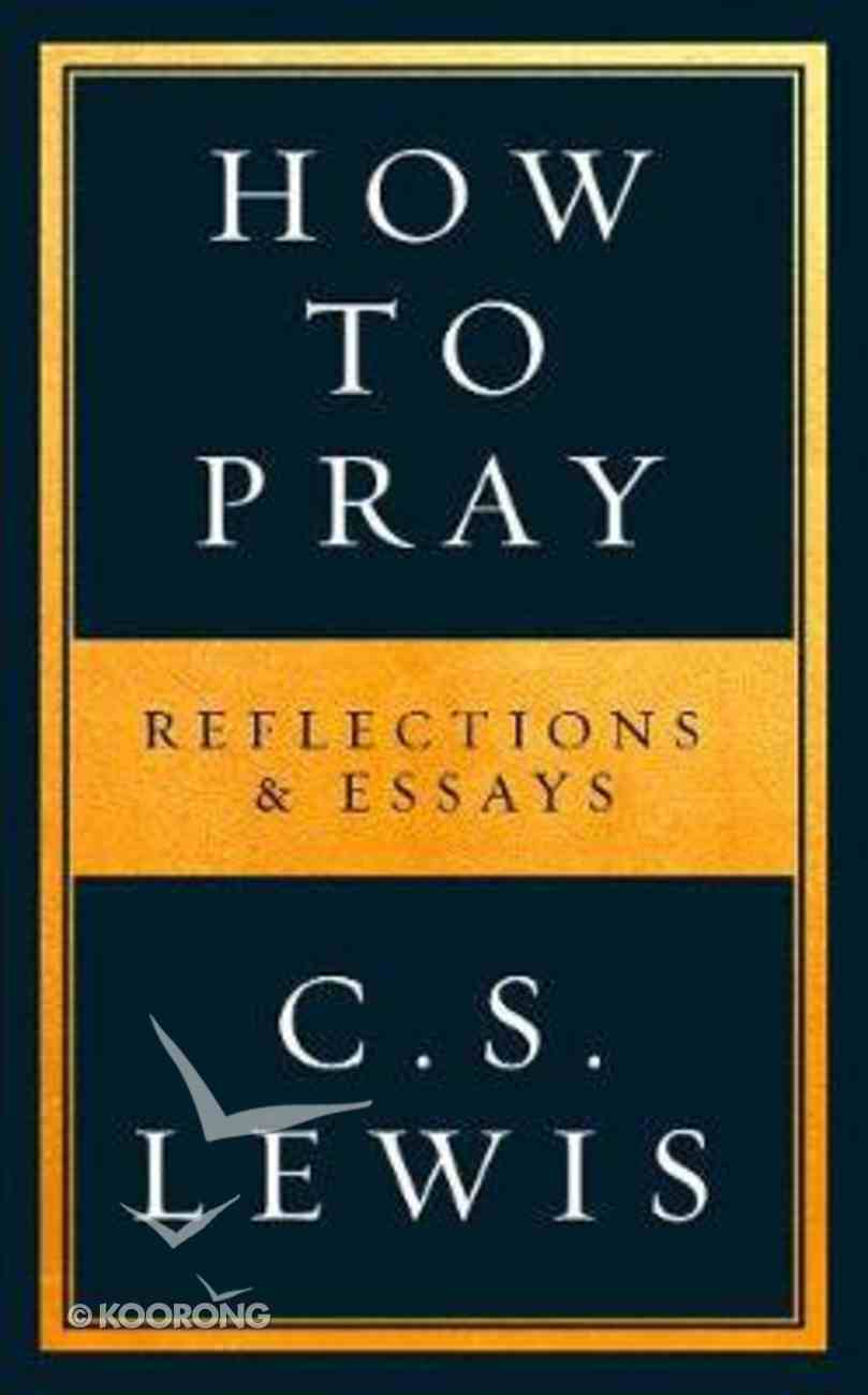 How to Pray eBook