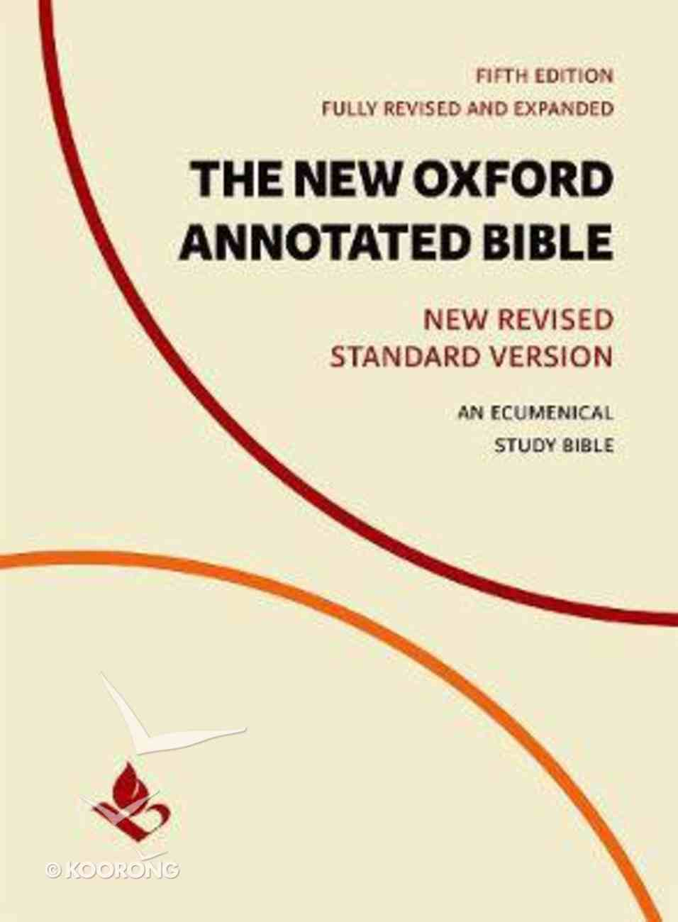 The NRSV New Oxford Annotated Bible (5th Edition) Hardback