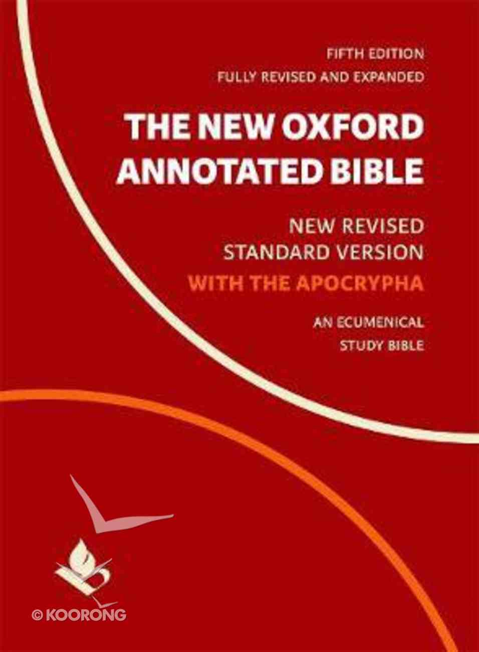 The NRSV New Oxford Annotated Bible With Apocrypha (5th Edition) Hardback