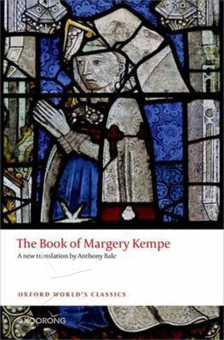 The Book of Margery Kempe (Oxford World's Classics Series) Paperback