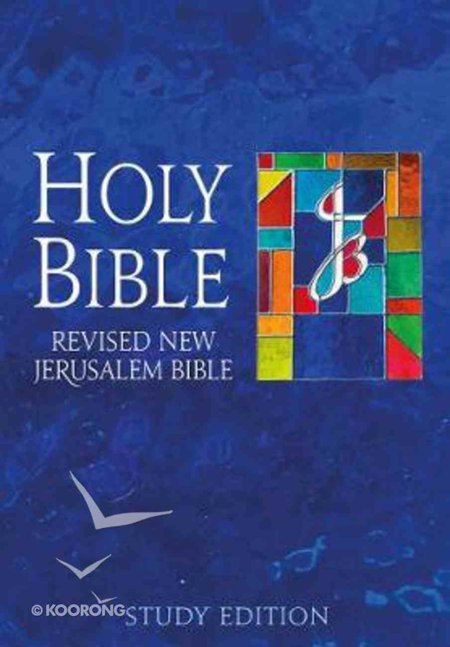 Rnjb Study Edition (New Jerusalem Bible) Hardback