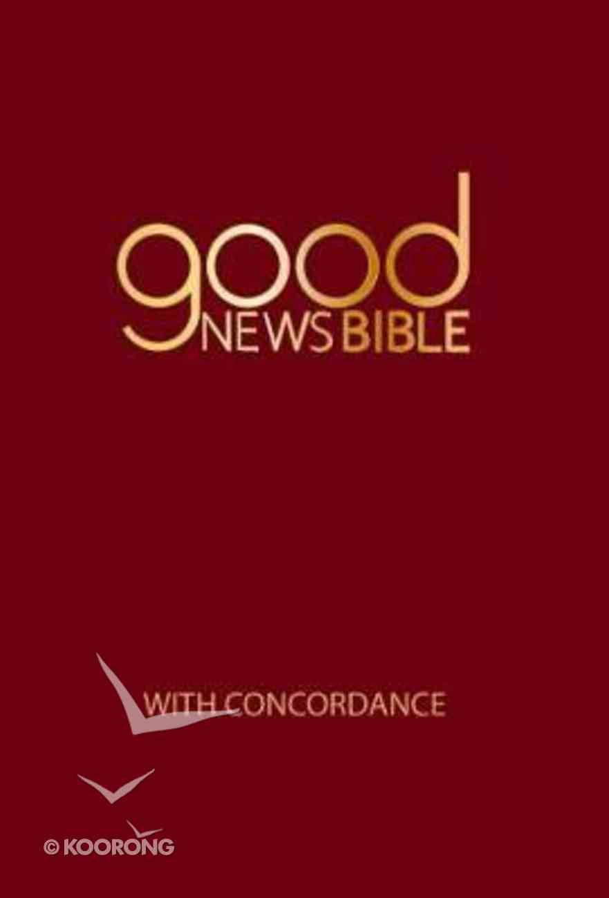 GNB Good News Bible With Concordance (Anglicised) Hardback