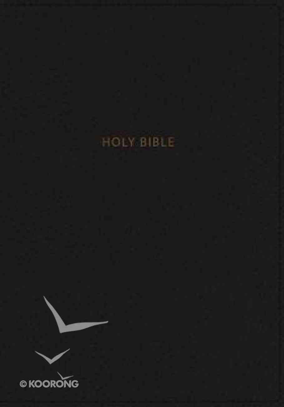 NKJV Reference Bible Giant Print Black (Red Letter Edition) Premium Imitation Leather