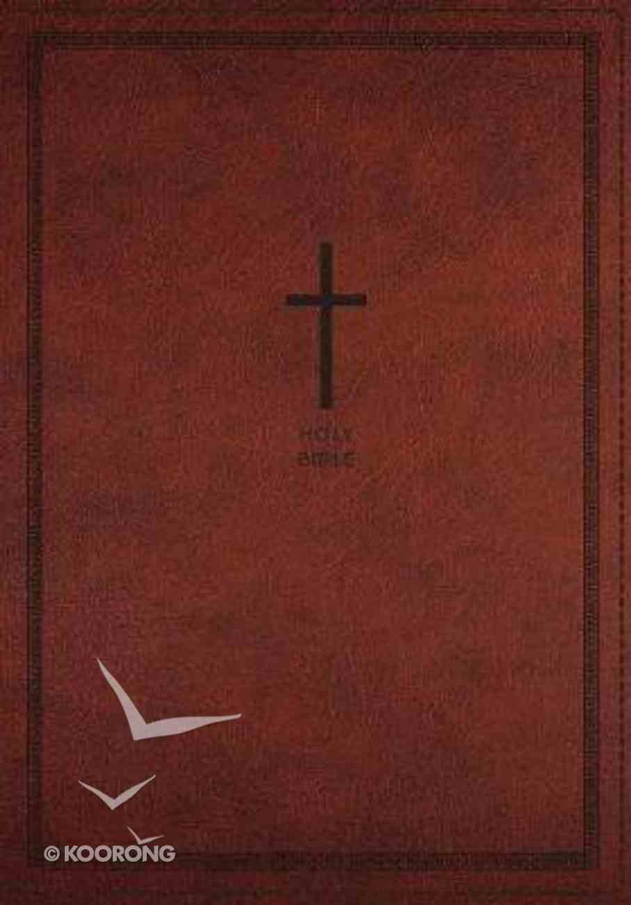 NKJV Deluxe Thinline Reference Bible Large Print Red (Red Letter Edition) Premium Imitation Leather