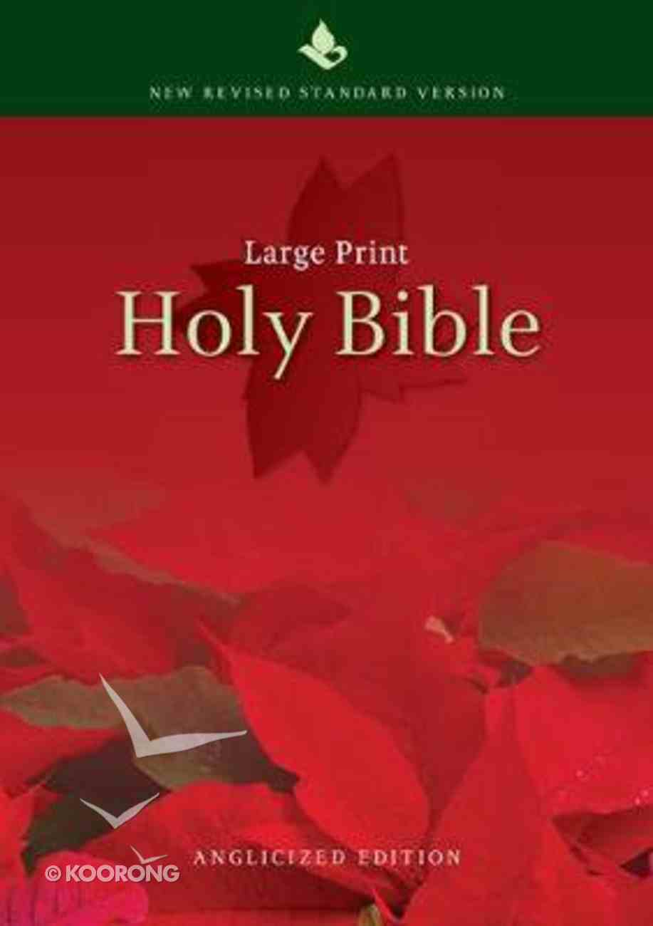 NRSV Large Print Text Bible Anglicised Edition Hardback
