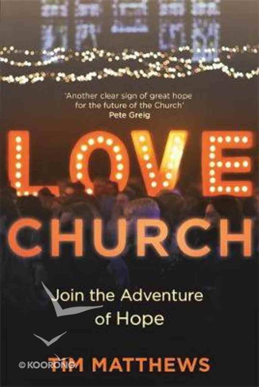 Love Church: Restarting Communities of Hope PB (Larger)