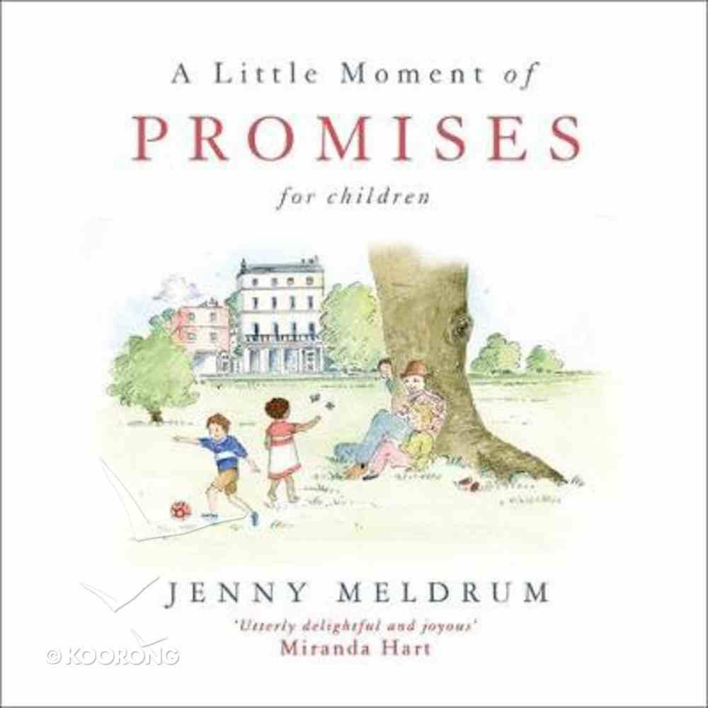 A Little Moment of Promises For Children Hardback