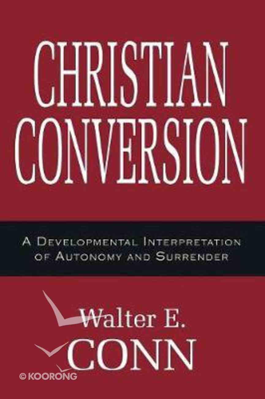Christian Conversion Paperback