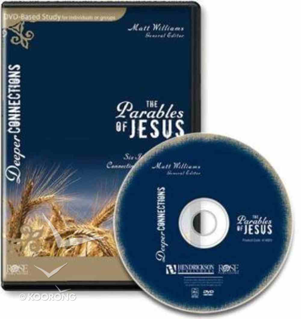 The Parables of Jesus: 6 Session Bible Study (Dvd) DVD