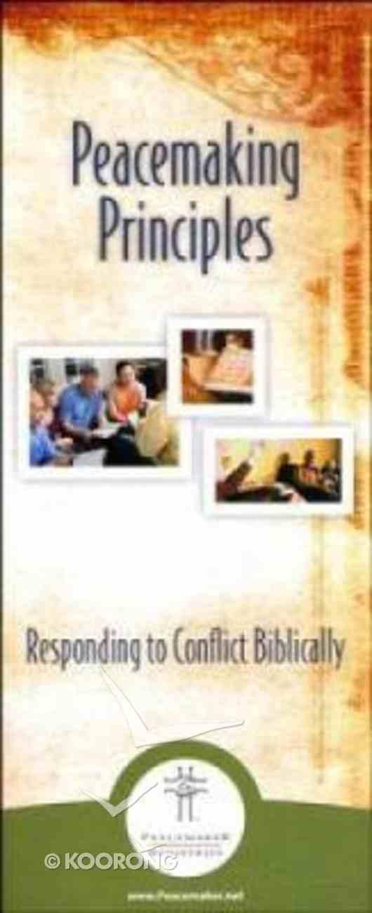 Peacemaking Principles (10 Pack) Booklet