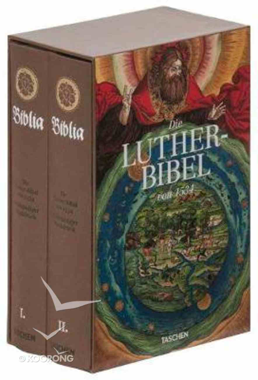 German Lutherbibel 1534 (2 Volume Set) Hardback