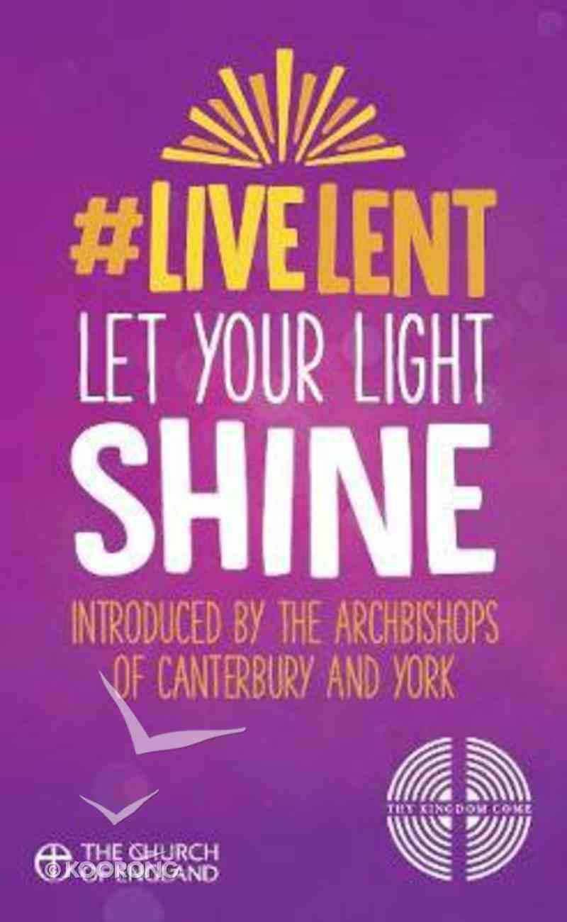 Live Lent: Let Your Light Shine (10 Pack) Pack